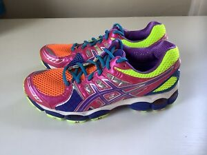 NEW Asics Gel-Nimbus 14 Women's Running Shoes - Multicolor - Sz 9