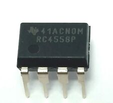 4PCS Texas Instruments RC4558P RC4558 Dual Operational Amplifier DIP-8 New IC