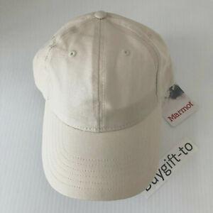 New Women Marmot Bodega Cap Hat Turtledove Adjustable One Size Beige