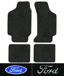1984-1994 Ford Tempo Floor Mats - 4pc - Cutpile