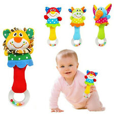 Baby Infant Animal Handbell Wrist Bells Foot Sock Rattles Development Bed Bell