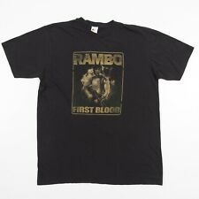 RAMBO First Blood Sylvester Stallone VTG Size 2X Men's T-Shirt