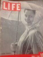 Life Magazine April 7 1941 Spring Showers WWlI Era