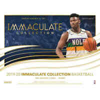 2019-20 PANINI Immaculate BASKETBALL FACTORY SEALED HOBBY BOX-IN STOCK! ZION?