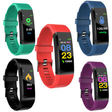 Activity FITNESS TRACKER Smart Watch STEP Count BLUETOOTH Heart Rate Bracelet