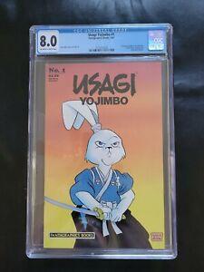 Usagi yojimbo 1 CGC 8.0