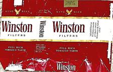 Vintage Cigarette Collection - Chile 🇨🇱 - 80s - Winston - Empty Pack