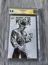 """Hunt for Wolverine CGC 9.8 NM Signed/Sketched Bart Sears """"Billy Jack Logan"""""""
