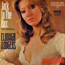 "7"" CLODAGH RODGERS Jack In The Box RCA ESC Eurovision Grand-Prix 1971 NEUWERTIG!"