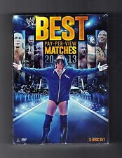 WWE: Best Pay-Per-View Matches 2013 (DVD, 2013, 3-Disc Set)