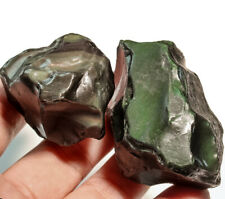 473.8Ct Natural Mexican Rainbow Obsidian Facet Rough Specimen YRO698