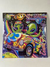 """Out of This World-Peace & Love"" Lisa Frank 2021 Wall Calendar 12 Month 10""X10"""