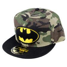 0bde28ce743ea5 DC Comics Batman Justice League Snapback Cap Kappe Mütze - Military  Camouflage