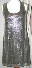 NEXT (UK12/EU40) SEQUIN LONG-LENGTH TOP/SHORTER DRESS - OCCASIONWEAR/PARTY - NEW