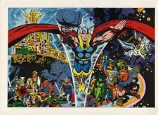 Vintage 1978 MIGHTY THOR in ASGARD Pin up Poster Marvel
