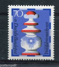 ALLEMAGNE FEDERALE, 1972, timbre 595, ECHECS, ROI, neuf**