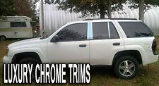 Chevy Trailblazer Stainless Chrome Pillar Posts by Luxury Trims 2002-2009 (6pcs)
