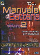 MANUALE CORSO METODO DI PER BATTERIA VALTER SACRIPANTI + DVD vol.2