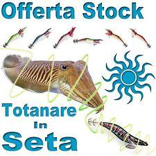 stock totanare colori assortiti in seta pesca mare seppia molto adescanti PB2888