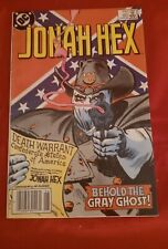 Jonah Hex #85 DC Comics 1984 Behold The Gray Ghost Hamnigan De Zunga VG FN