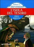 L'isola del tesoro, ROBERT STEVENSON, GIUNTI JUNIOR, EDIZIONE CARTONATA