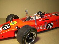 GRAHAM  HILL  1/18  PAINTED  FIGURE  FOR  LOTUS  56  INDY 1968  VROOM  SPARK
