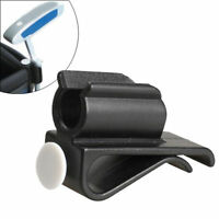 Golf Bag Clip on Putter Clamp Holder Putting White Organizer Club Ball Marker