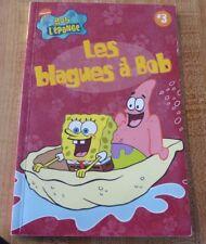 Soft Cover French Book Les Blagues à Bob L'éponge Spongebob Squarepants # 3