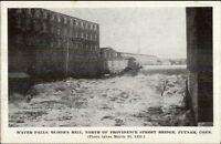 Putnam CT 1936 Flood Postcard #1