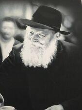 """Lubavitcher Rebbe Portrait B & W Large Size  Lithograph Print 13x19"""""""