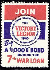 WWII 1945 U.S. Victory Legion 7th War Loan