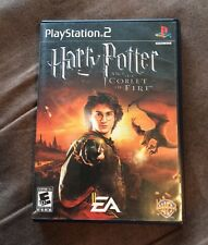 Harry Potter And The Goblet Of Fire Sony PlayStation 2 PS2 Complete! Fast Ship!!