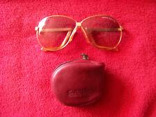 Carrera Porsche Design 5626 Goldene Klappbrille mit getönten Gläsern