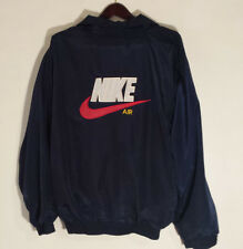 NIKE AIR JACKET COAT FULL ZIPPED LINED NAVY BLUE MEN'S SIZE XL