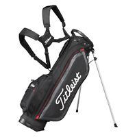 NEW Titleist Golf JAPAN CBS76-BK Stand Caddie bag Black 7.5x46 Mens Express mail
