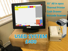 """15"""" Touchscreen EPOS System for Off Licence, Retail, Corner Shop or Fast Food"""