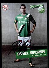 Daniel Sikorski Autogrammkarte FC St Gallen 2015-16 Original Signiert+A 113386