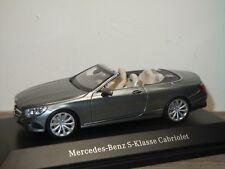 Mercedes S-Klasse Cabriolet - Kyosho 1:43 in Box *36498