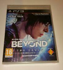 Más allá de dos almas PS3 Nuevo Sellado PAL Reino Unido Sony PlayStation 3 2 protagonizada por Ellen Page