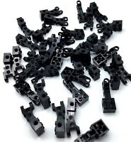LEGO LOT OF BLACK TECHNIC PARTS WITH BALL HITCH FEMALE END BRICK MODIFIED