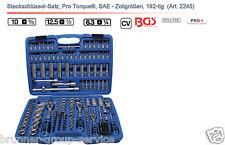 Steckschlüssel-Satz, Pro Torque®, SAE - Zollgrößen, 192-tlg.  Art. 2245