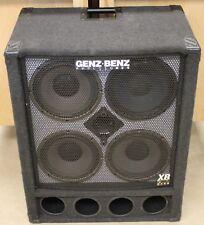 Genz Benz XB2 GB 410T-XB2 Bass Cabinet