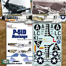P-51 D Mustang Nose Art: 55, 79 FS of 20 FG (1/32 decals, Superscale 320257)