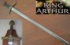 New Stainless Steel King Arthur Long Sword Dirk with Board Able to put on Wall