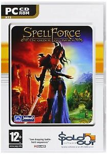 Spellforce The Order OF Dawn PC Cd Rom Computer Laptop Game For Players Age 12+