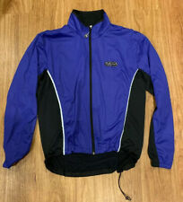 SUGOI Blue/Purple and Black Long Sleeve Athletic/Cycle Jacket Size Small