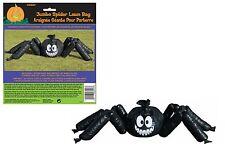 Jumbo halloween araignée de jardin pelouse sac décoration extérieur intérieur fête d'halloween