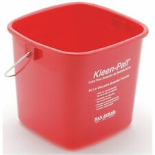 Kleen-Pail Utility Bucket Is 3qt Red For Sanitizing, 71945