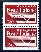 ITALIA 1995 coppia ND da Libretto Poste Usata -  Lire 750