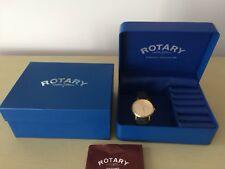 Mens 9ct Gold Rotary Watch